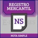 Nota Simple Registro Mercantil