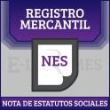 Nota de Estatutos Sociales