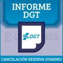 Cancelación Reserva  Dominio online